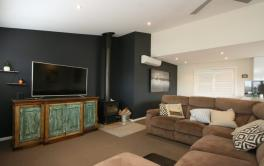 22 Twynam St, Jindabyne - Lounge Room with Fireplace