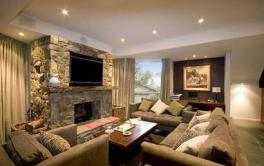 Rockpool Lodge, Thredbo - Lounge