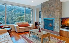 Peak Apartment 4, Thredbo - Lounge Room