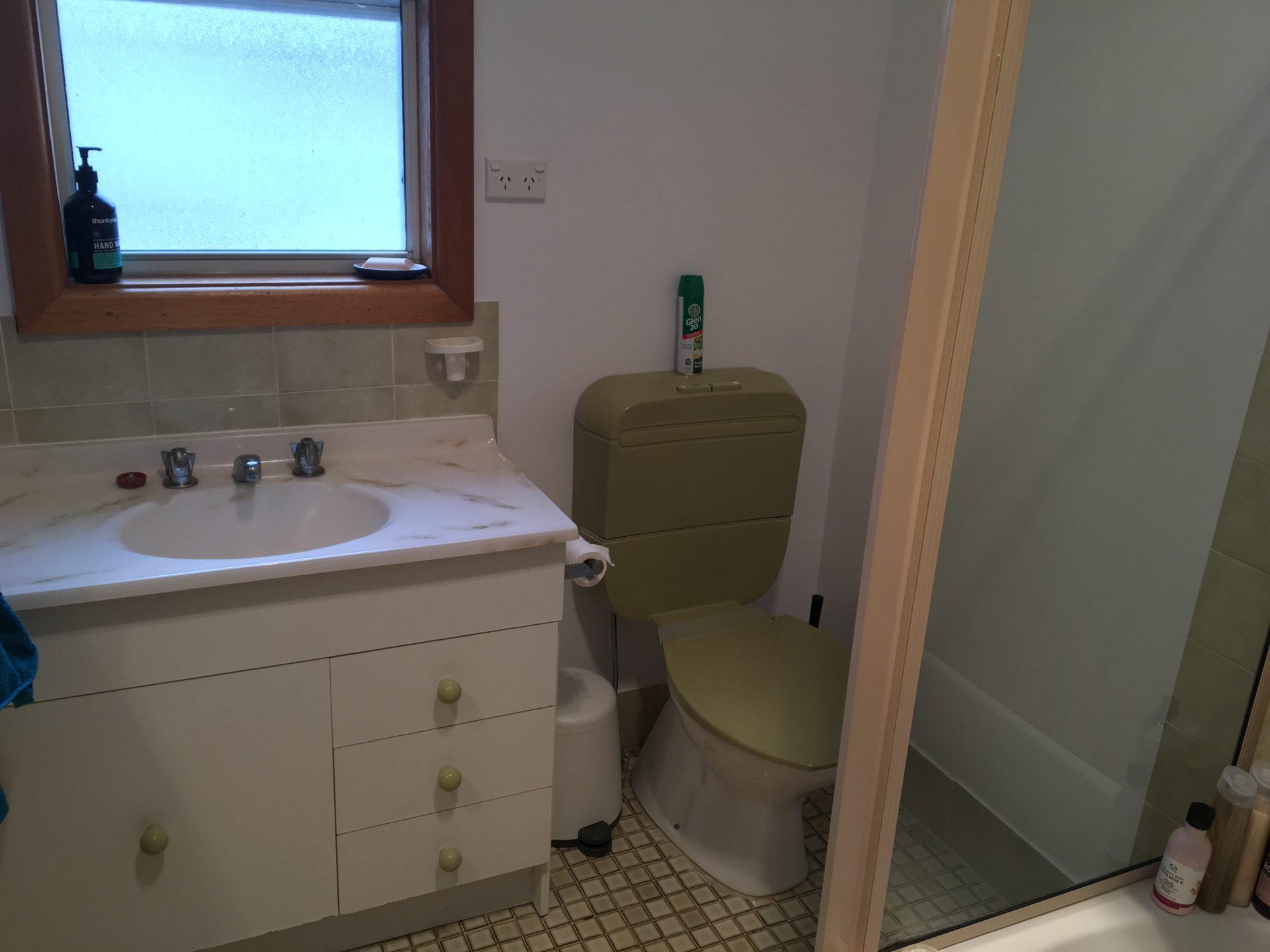 Stone & Wood Cottage, Old Adaminaby - Bathroom