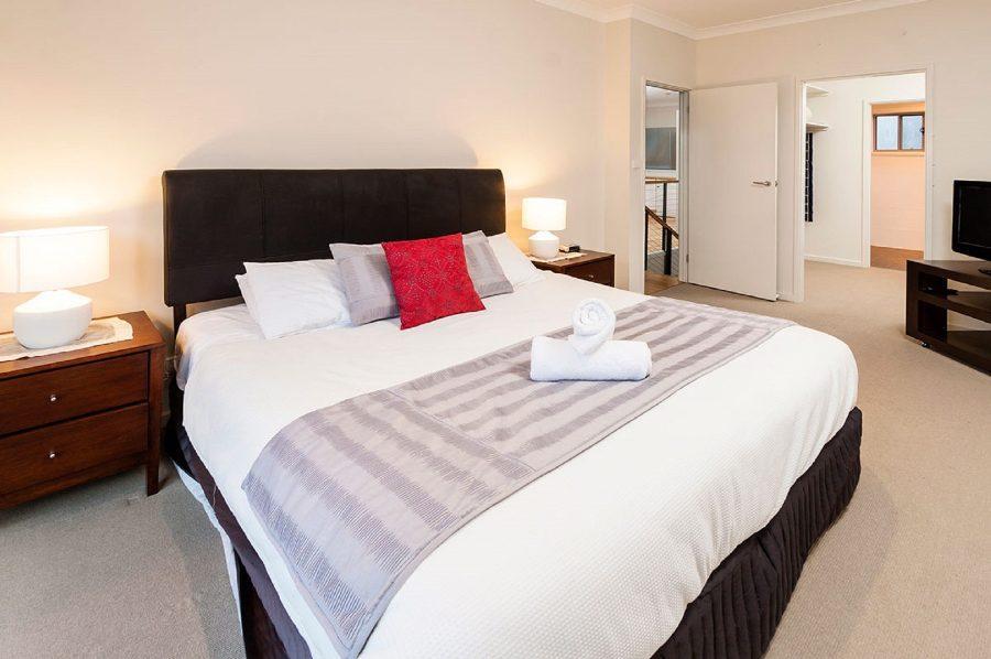 Aspect 2, Jindabyne - Master Bedroom with Ensuite