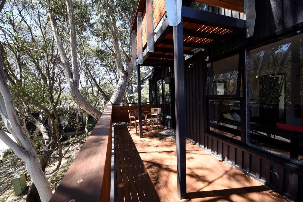 Athol Lodge, Thredbo - Balcony