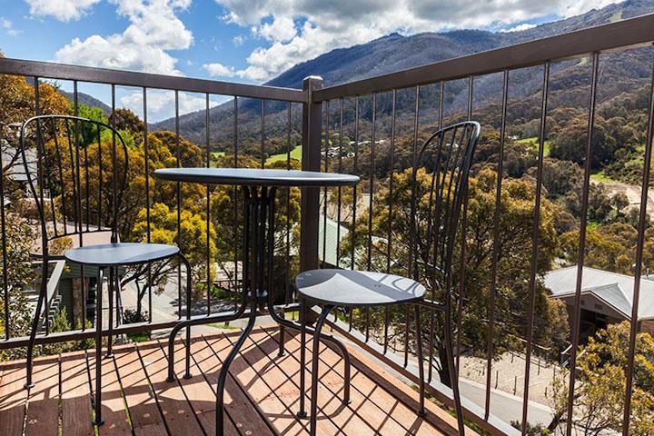 The Denman Hotel, Thredbo - Balcony