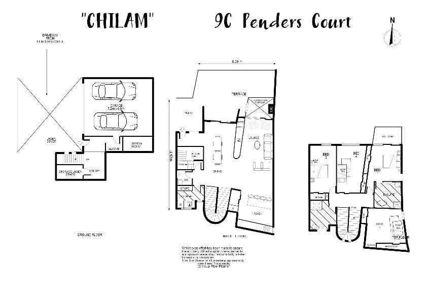 Chilam C, Jindabyne - Floorplan