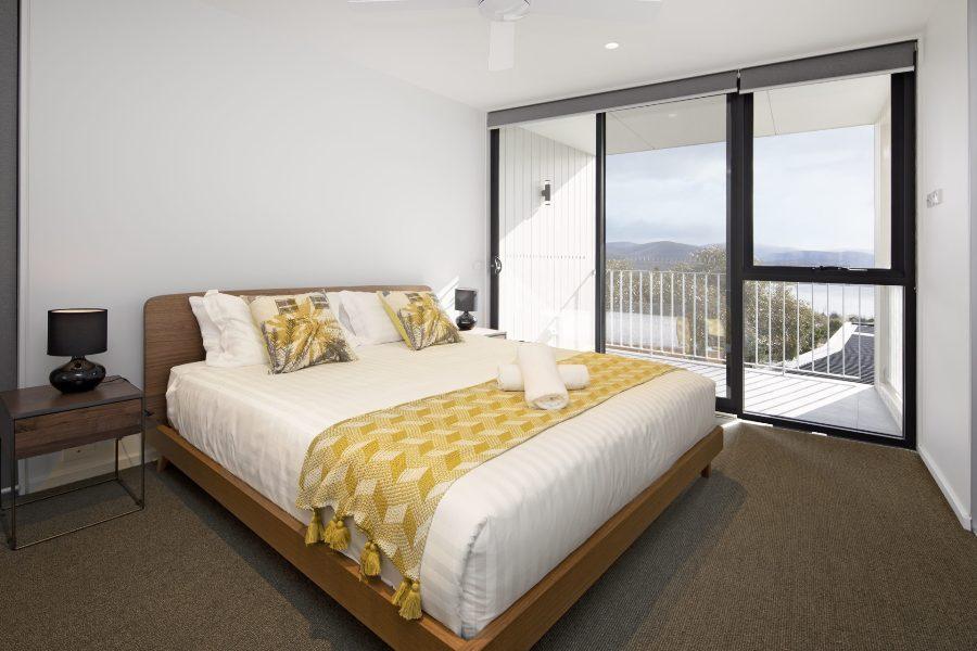 Chilam D, Jindabyne - Master Bedroom