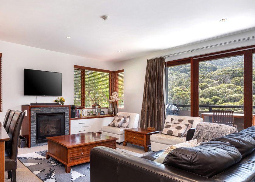 Elevation 5, Thredbo - 2 Bedroom & Study Apartment