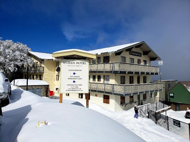Enzian Hotel, Mt Buller - Lodge Exterior