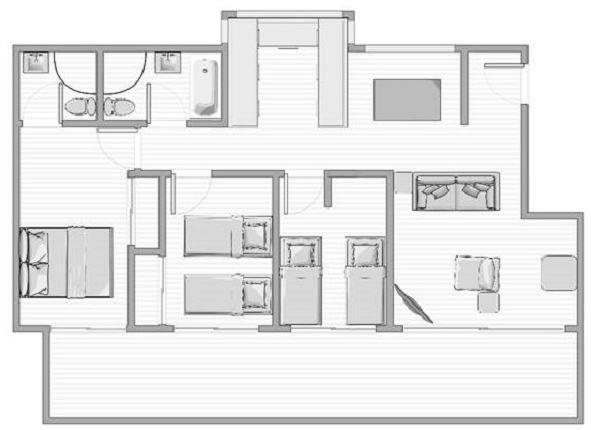 Kooringa 12, Jindabyne - Floorplan
