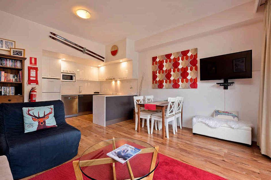 Lantern, Thredbo - One Bedroom Balcony Apartment