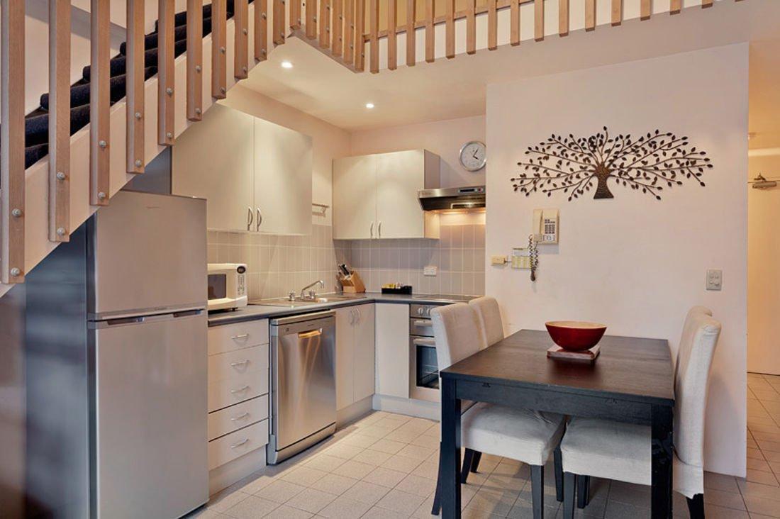 Lantern, Thredbo - Loft Dining & Kitchen