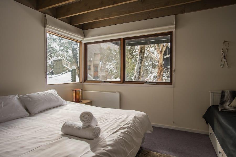 Merrits View, Thredbo - Bedroom
