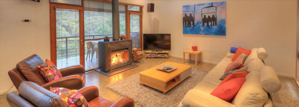 Paringa, Thredbo - Fireplace