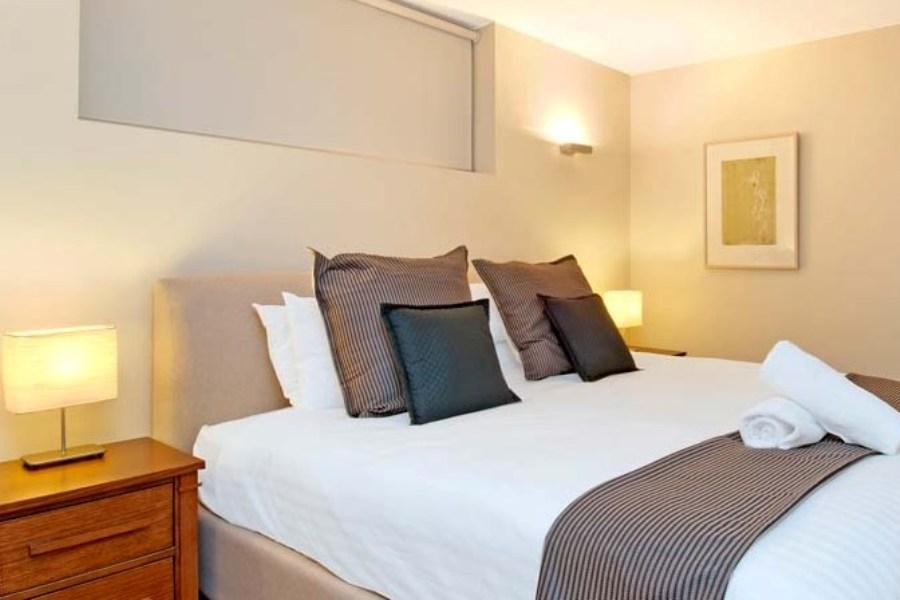 Peak Apartment 2, Thredbo - Bedroom/Study