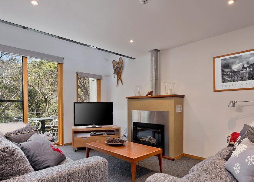 Pinnibar 2, Thredbo - 2 bedroom & loft apartment