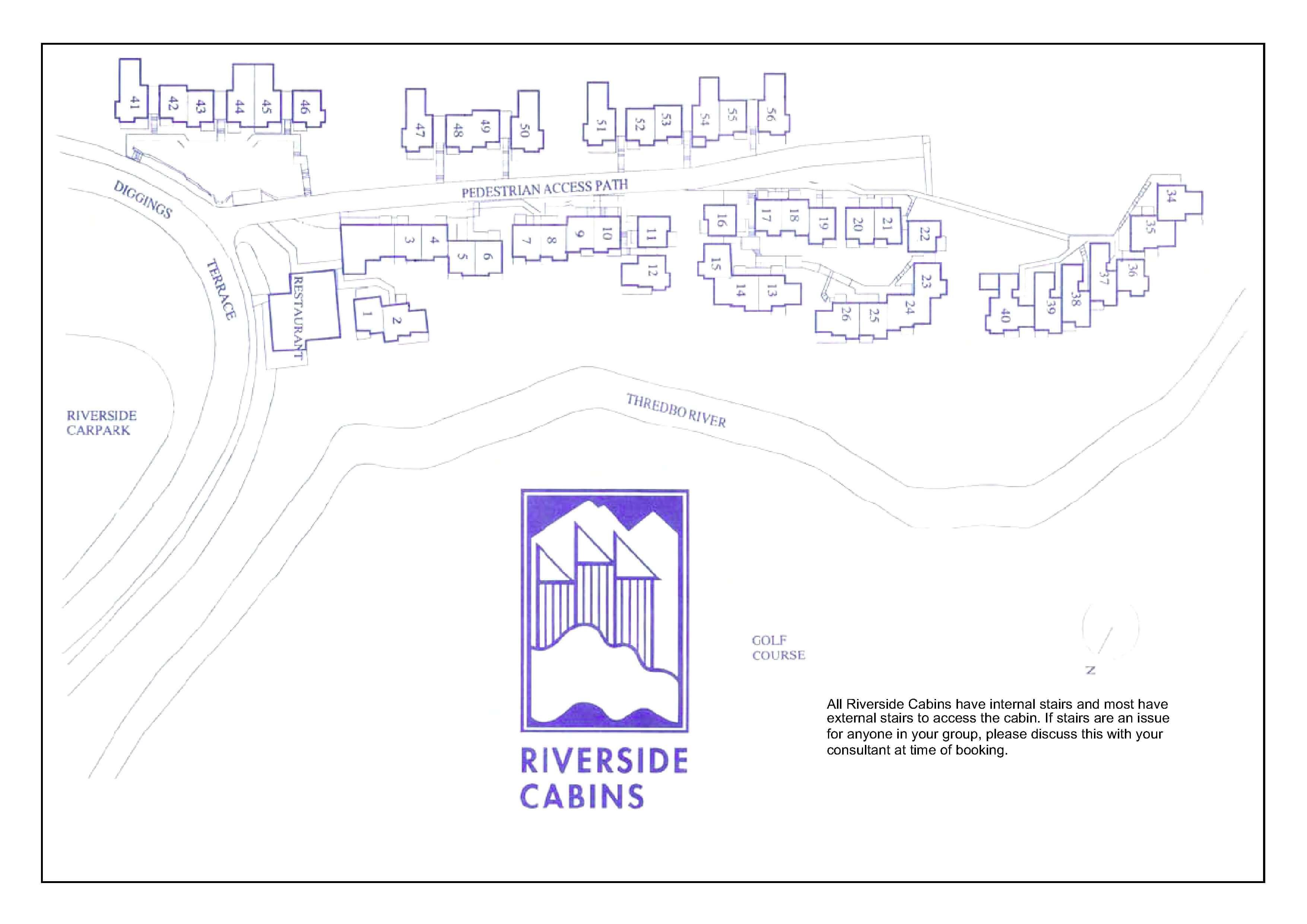 Riverside Cabins One Bedroom + Loft
