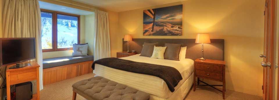 Ski In Ski Out, 3 Bed Superior - Bedroom