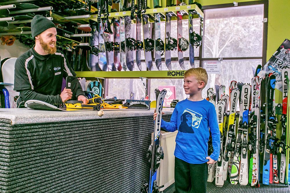 Ski Rider Hotel - On-site Rental