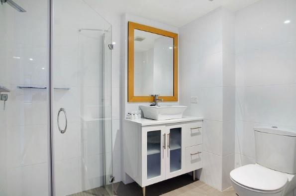 Snowgoose 1 Bedroom Apartment, Thredbo - Bathroom
