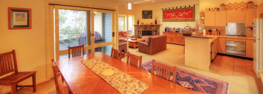 The Lodge 1, Thredbo - Open Plan Living