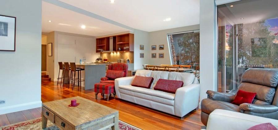 Peak Apartment 4, Thredbo - Living Area