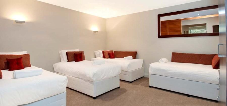 Peak Apartment 4, Thredbo - Media Room (Bedroom 3)