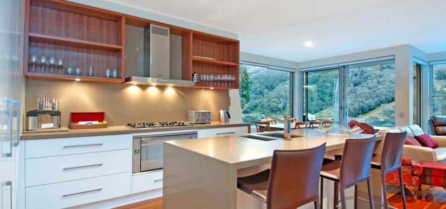 Peak Apartment 4, Thredbo - Kitchen