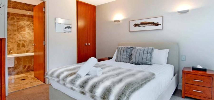 Peak Apartment 4, Thredbo - Master Bedroom