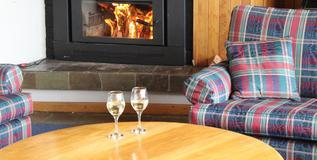Valhalla Lodge, Perisher -  Relax by the fire