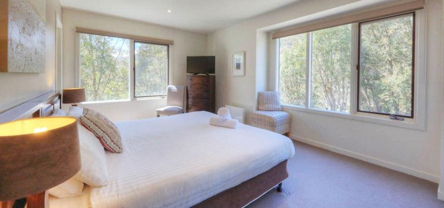 Wintergreen 5, Thredbo - Master Bedroom