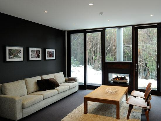 Parallel 2, Thredbo - Lounge with Fireplace