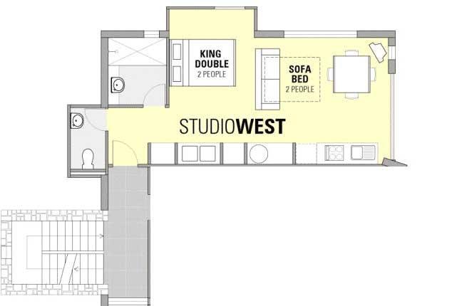 Studio West Apartment